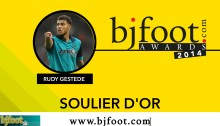 Bjfoot Awards 2014: Gestede , soulier d'or !