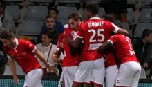Ligue 2-J35: Nîmes se maintient avec la manière, Mounié passe la dixième