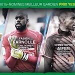 Bjfoot Awards 2015:  Aifimi, Farnolle et Allagbé nominés pour le  prix Yessouffou Sèmiou