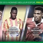 Bjfoot Awards 2015: Kiki , Mounié et Tidjani en course pour le prix Médard Zanou !