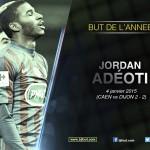 Bjfoot Awards 2015: but de l'année, Adeoti primé