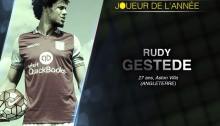 Bjfoot Awards 2015: Gestede, joueur de l'année.