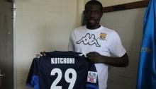 Ligue 1-J3: Kotchoni «L'objectif c'est de me relancer»
