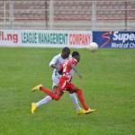 Nigéria-J12: Antonin Oussou (Heartland) marque contre Fabiyi (Shooting Stars)