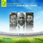 Bjfoot Awards 2016 : les nominés pour le titre du joueur de l'année