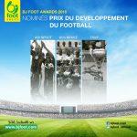 Bjfoot Awards 2016 : les nominés pour le prix du développement du football