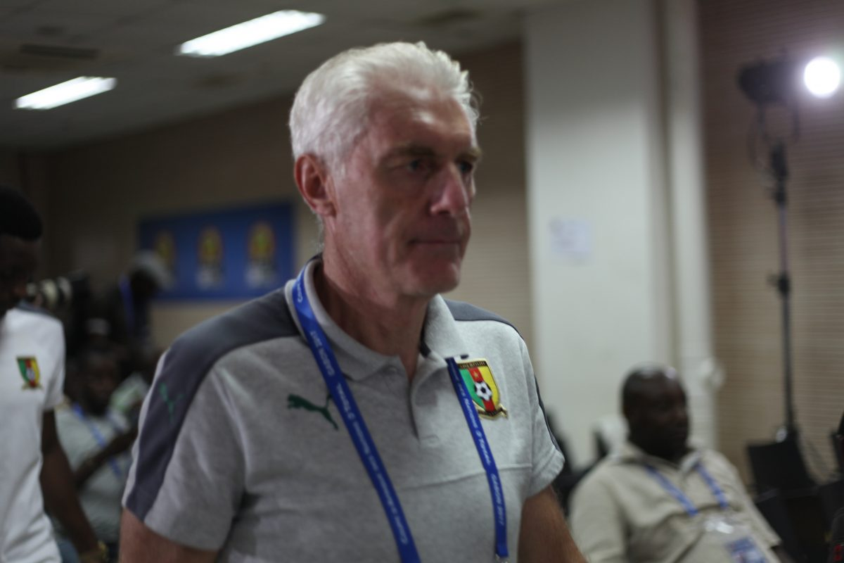 Can 2017 – Cameroun: Broos «on doit aller chercher chaque victoire»