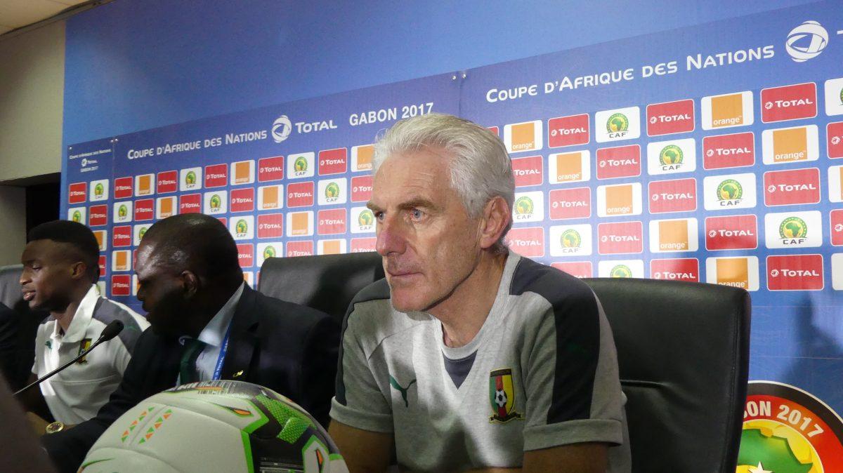 Can 2017- Cameroun: Broos ««Avant d'arriver au Cameroun j'avais déjà mon projet dans ma tête»