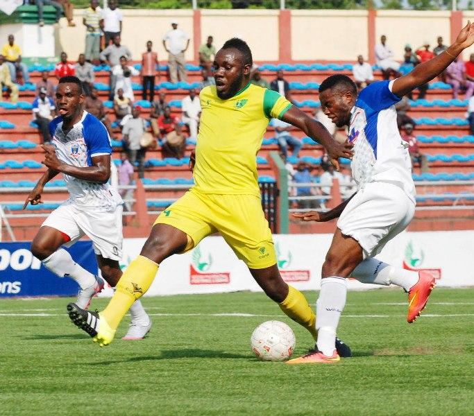 Nigéria : Junior Salomon buteur avec Plateau United