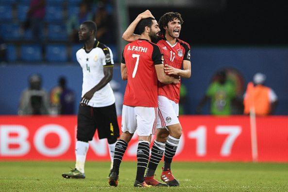 Can-2017-finale: Elneny donne l'avantage à l'Egypte (mi-temps)