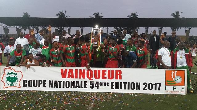 Côte d'ivoire: Africa Sports et Loko remportent la coupe nationale