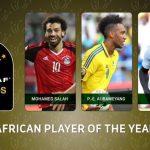 Caf Awards 2017 : un trio Salah, Aubameyang et Mané en finale !
