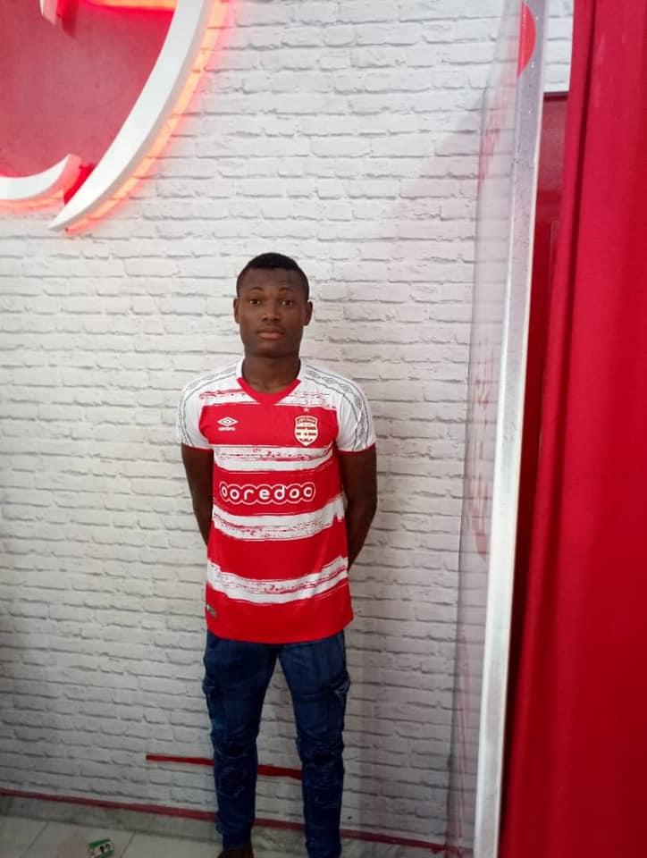Transfert: Le Club Africain de Tunis officialise l'arrivée de Rodrigue Kossi !