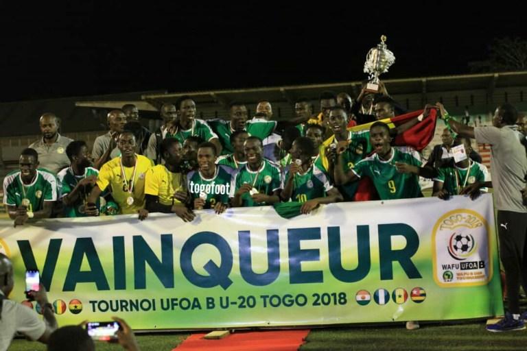 UFOA U20 – Zone B : Le Sénégal remporte le tournoi