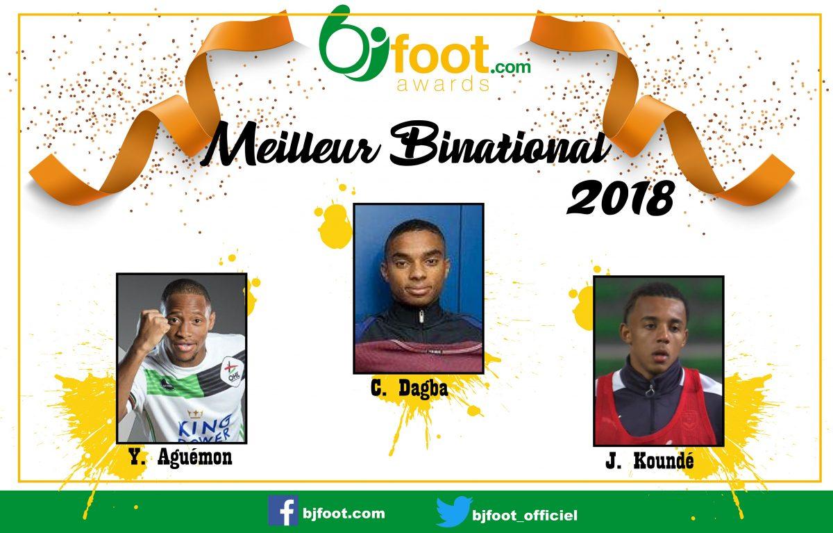 Bjfoot Awards 2018 : Meilleur binational , les nommés sont…