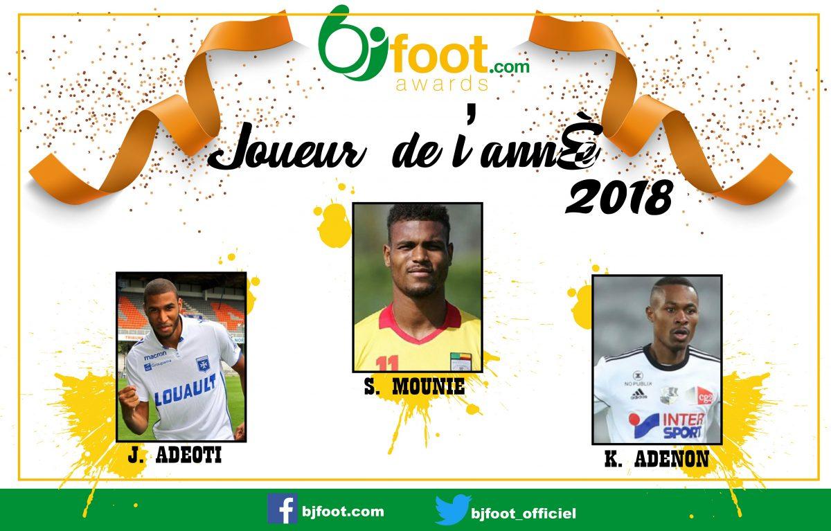 Bjfoot Awards 2018 : Joueur de l'année , les nommés sont…