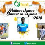 Bjfoot Awards 2018 : Meilleur joueur évoluant en Afrique , les nommés...