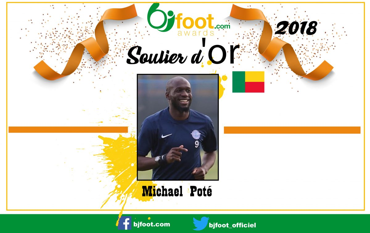 Bjfoot Awards 2018 : Michael Poté , soulier d'or