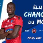 France : Saturnin Allagbé , élu joueur du mois de mars