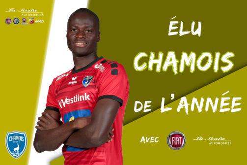 France  : Saturnin Allagbé élu «joueur de l'année» à Niort !