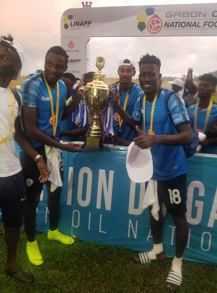 Gabon : invincible, l'AO CMS de Djamal Fassassi remporte le championnat