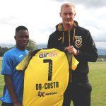 Transfert: Da Costa et Hounkpè, deux espoirs béninois s'installent en Estonie
