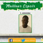 Bjfoot Awards 2019: Meilleur espoir « Prix Médard Zanou » , Youssouf Assogba (Amiens/France) sacré