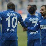 Turquie : Michael Poté fait gagner BB Erzurumspor