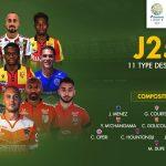 France : Cédric Hountondji élu dans le XI type de la 25e journée