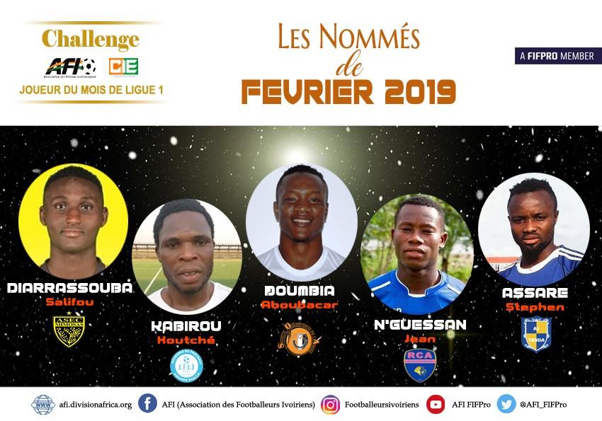 Côte d'ivoire : Kabirou Koutché nommé pour le titre du joueur du mois de février