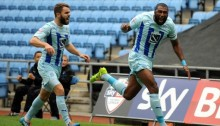 Coventry City: Johnson buteur dans un hold up parfait