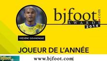 Bjfoot Awards 2014: Gounongbé , joueur de l'année!