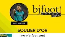 Bjfoot Awards 2014: Gestede , soulier d'or !