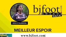 Bjfoot Awards 2014: d'Almeida , meilleur espoir !
