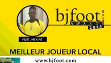 Bjfoot Awards 2014:  Oré, meilleur joueur local