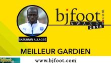 Bjfoot Awards 2014: Allagbé remporte le prix «Yessoufou Sèmiou Campos»