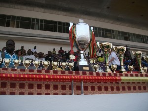 de nombreux trophées distribuéss