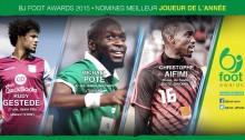 Bjfoot Awards 2015: Aifimi, Gestede et Poté en course pour le joueur de l'année !