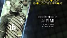 Bjfoot Awards 2015: Aifimi, meilleur joueur évoluant en Afrique