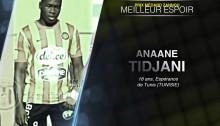Bjfoot Awards 2015 : Tidjani sacré meilleur espoir.