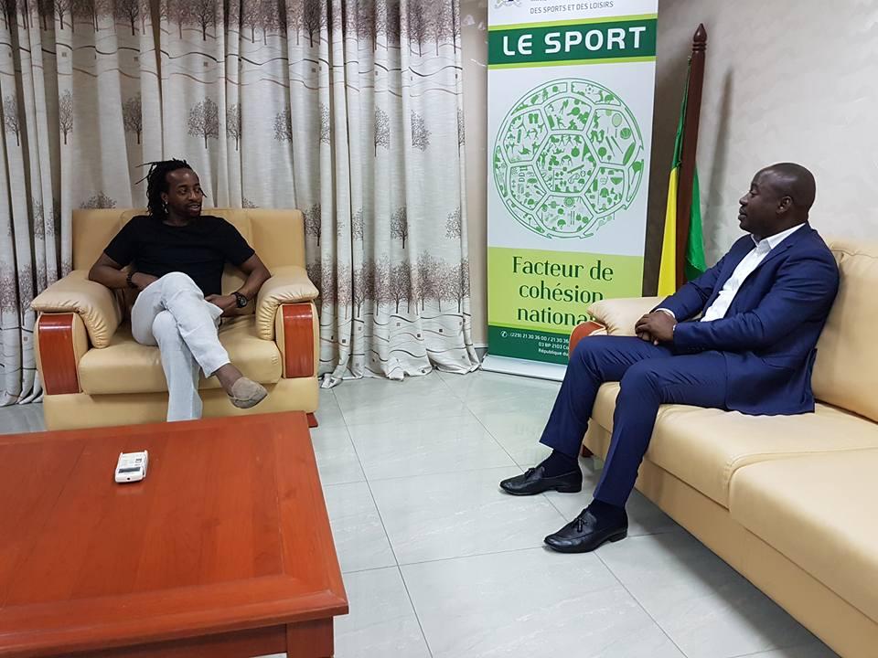 Divers: Govou reçu par le ministre des sports