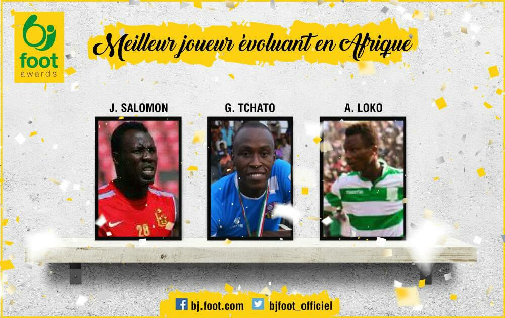 Bjfoot Awards 2017 : meilleur joueur évoluant en Afrique , les nominés !