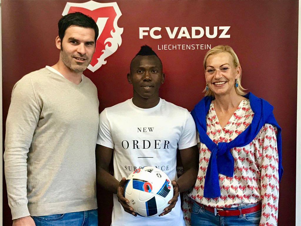 Transfert- Exclu  : Qualifié pour les tours préliminaires d'Europa League , le FC Vaduz (Suisse) officialise la venue de Jodel Dossou !
