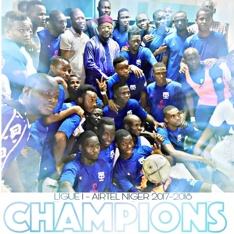 Niger : l'As Sonidep sacré champion avec un Nicolas Dognon en grande forme !