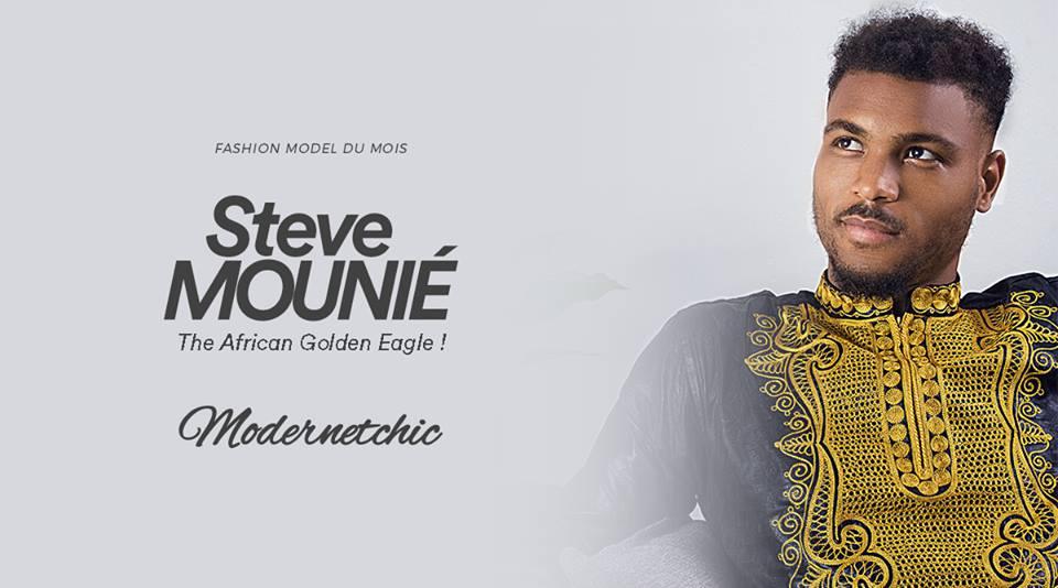 Média – Mode : Steve Mounié à la Une de Modernetchic  !