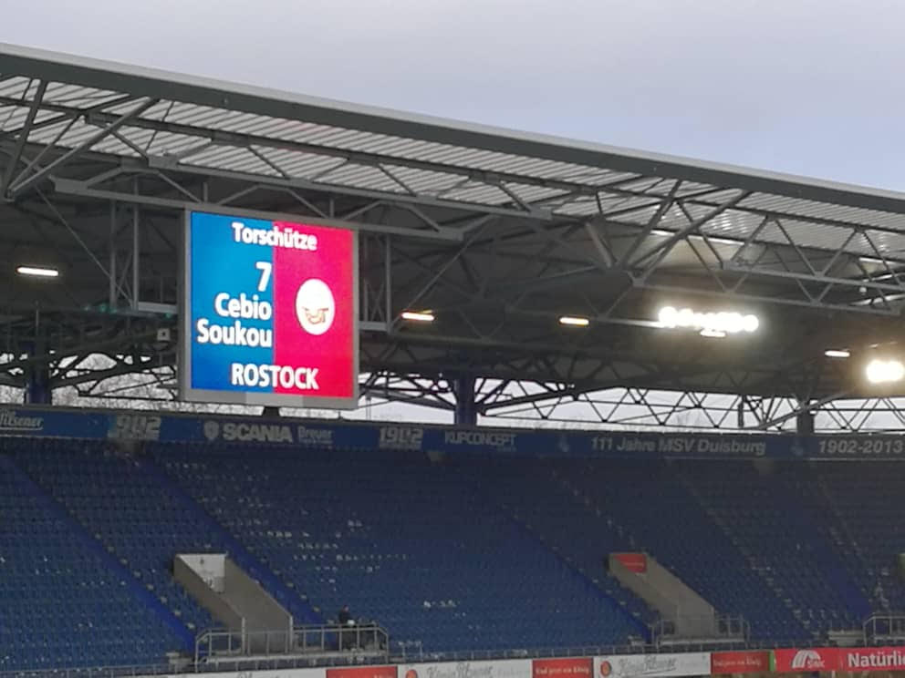 Envoyé Spécial : le film du match de Cèbio Soukou contre Uerdingen