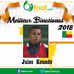Bjfoot Awards 2018 : Jules Koundé , meilleur binational