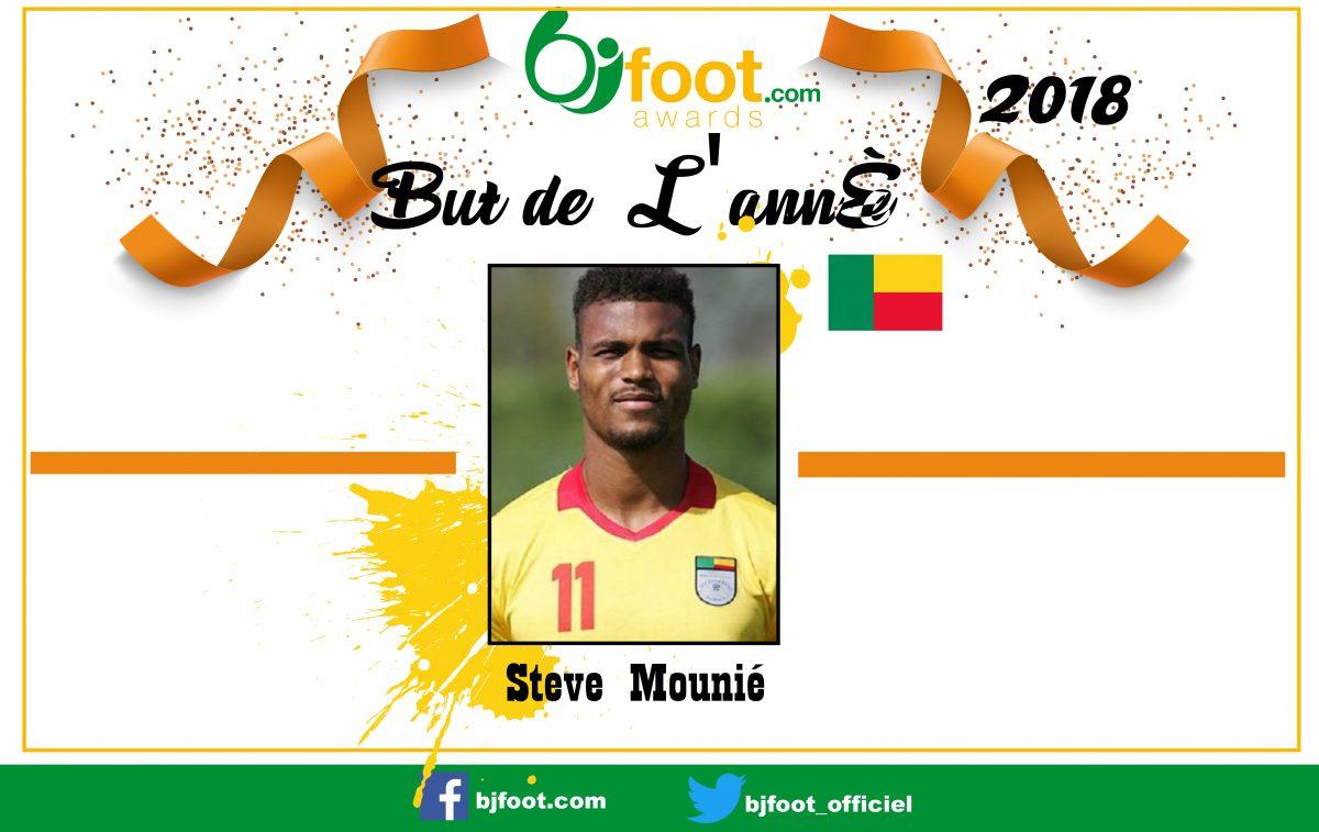 Bjfoot Awards 2018: But de l'année , Steve Mounié