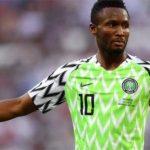 Can Egypte 2019 : Les 23 du Nigéria avec Obi Mikel