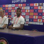 Can Egypte 2019 : le meilleur de la conférence de presse de Dussuyer avant le Cameroun
